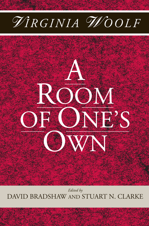 Вирджиния Вулф A Room of One's Own woolf v a room of ones own
