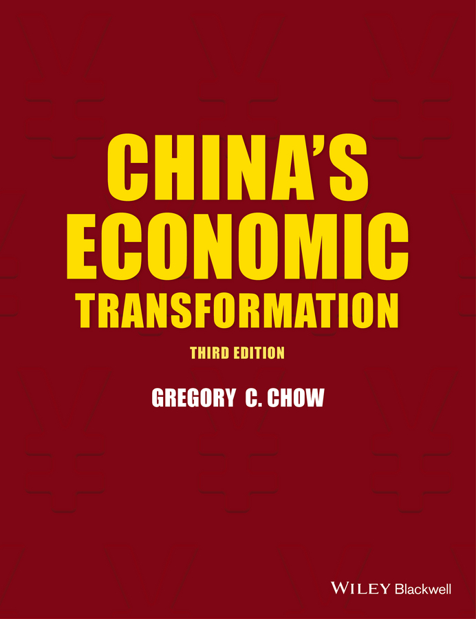 Gregory Chow C. China's Economic Transformation все цены