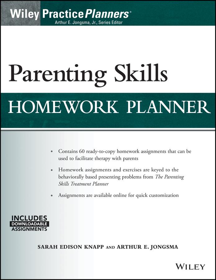 Sarah Edison Knapp Parenting Skills Homework Planner (w/ Download) аксессуар противоударное стекло для samsung galaxy a8 plus innovation 2d black 12124