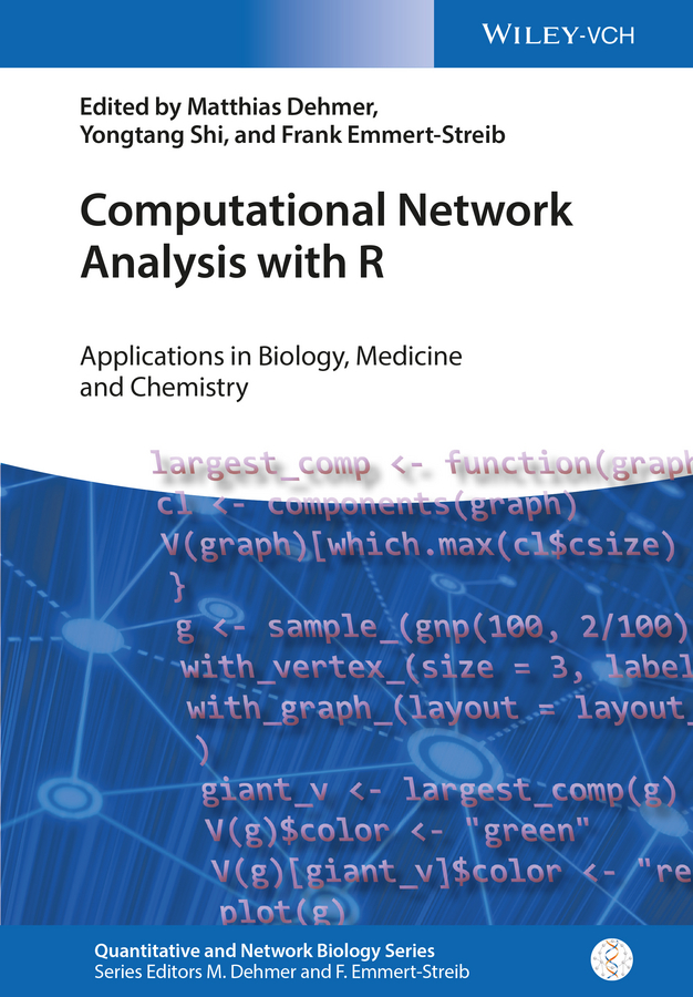 Matthias Dehmer Computational Network Analysis with R. Applications in Biology, Medicine and Chemistry ken cherven network graph analysis and visualization with gephi