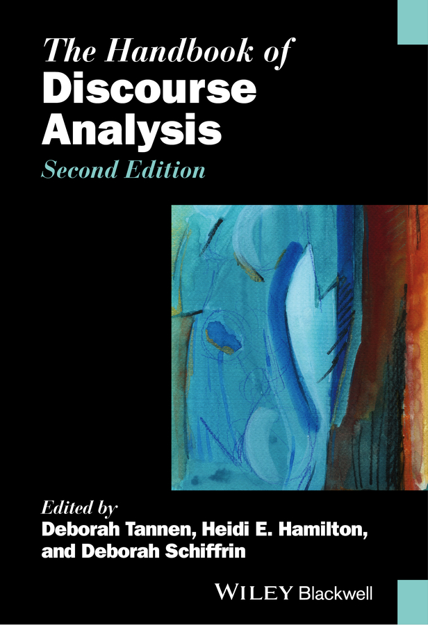 Deborah Tannen The Handbook of Discourse Analysis identity discourse in israel
