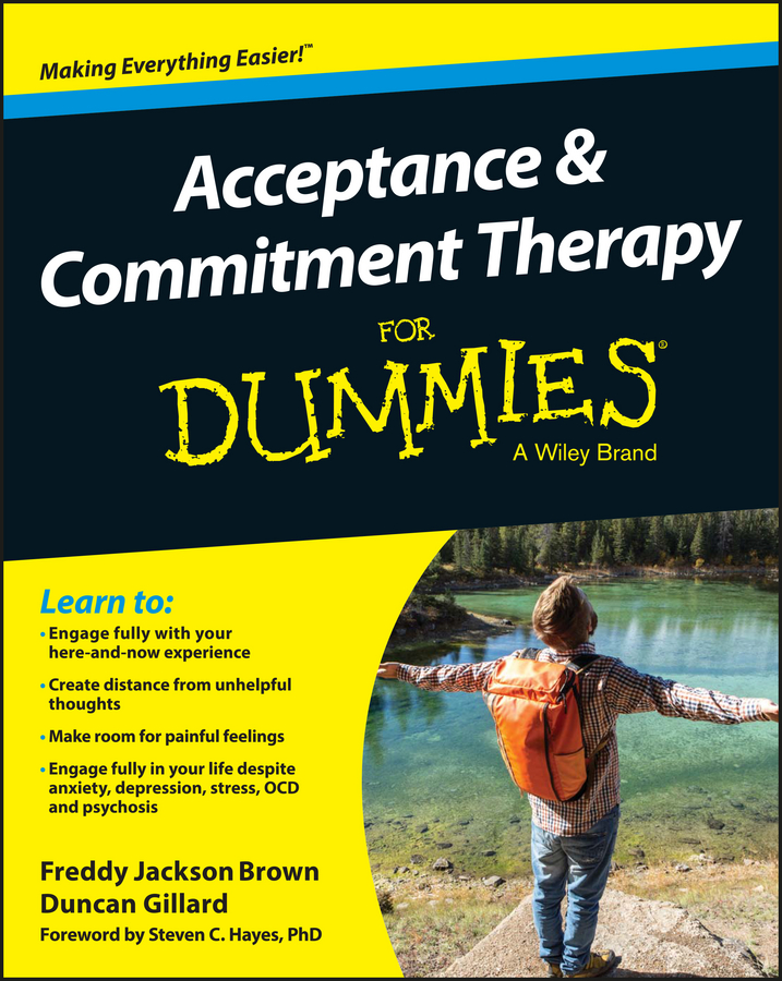 Duncan Gillard Acceptance and Commitment Therapy For Dummies файл для документов deli 5505 10 a4