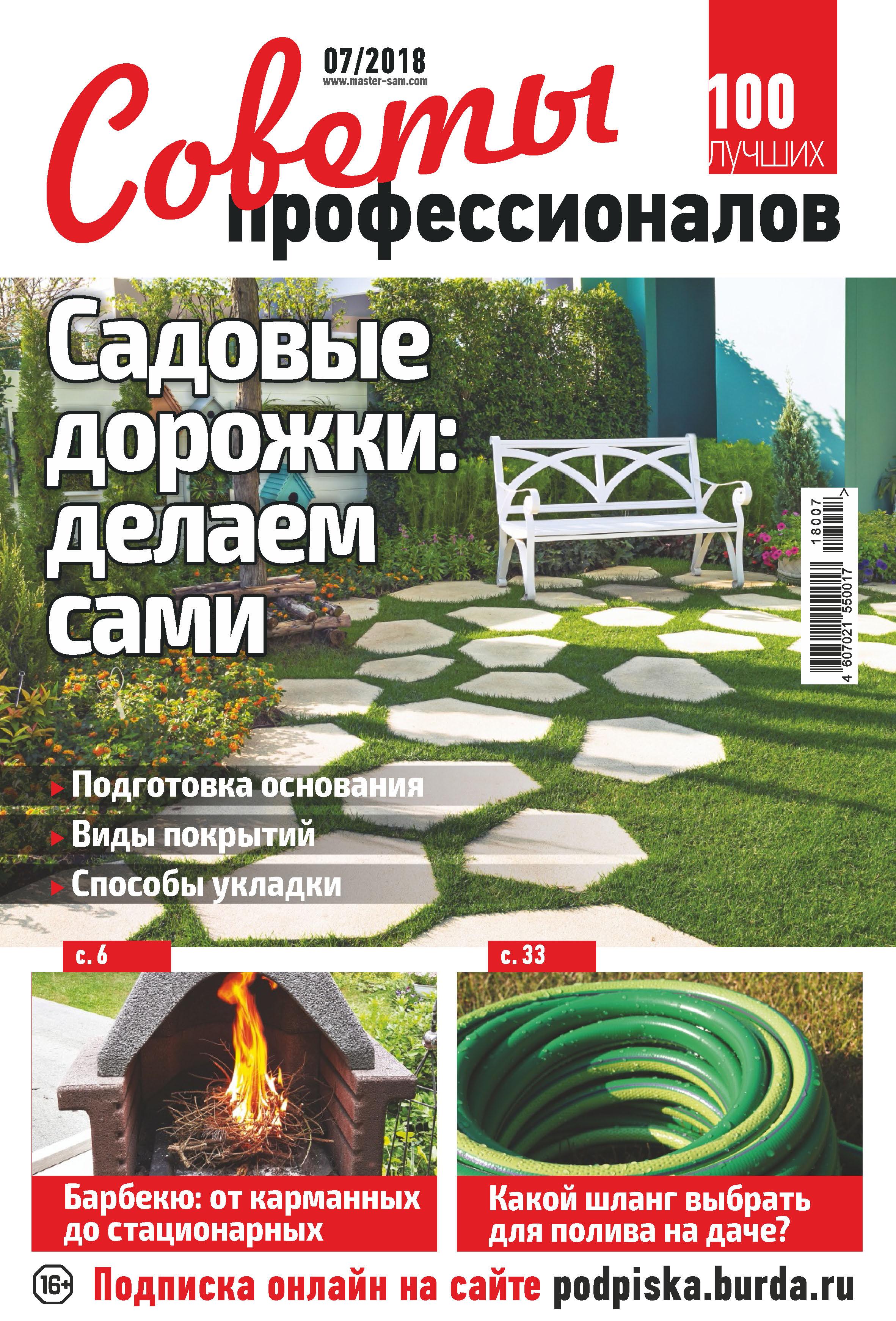 Отсутстует Соеты профессионало №07/2018