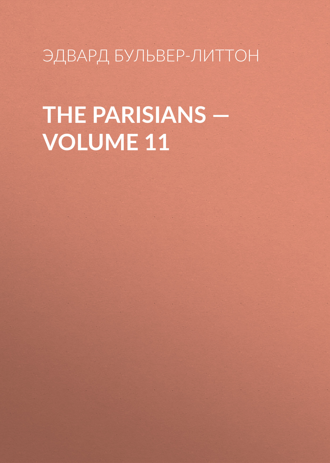 The Parisians — Volume 11