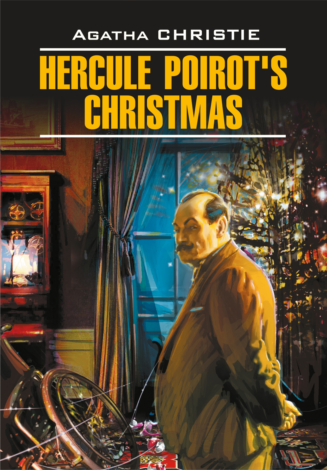 Hercule Poirot's Christmas / Рождество Эркюля Пуаро. Книга для чтения на английском языке