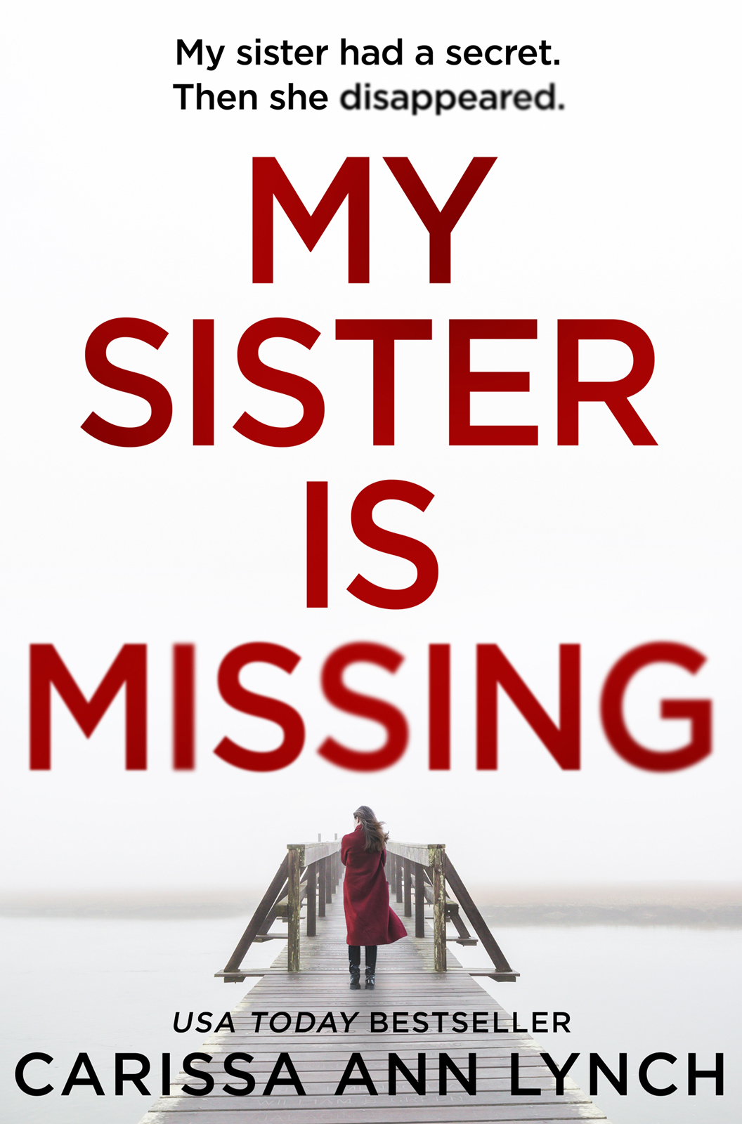 Carissa Lynch Ann My Sister is Missing: The most creepy and gripping thriller of 2019