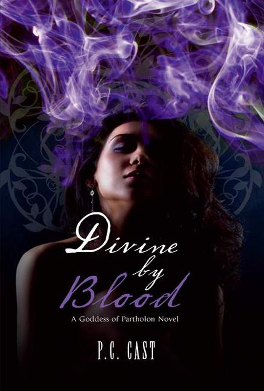 P.C. Cast Divine by Blood
