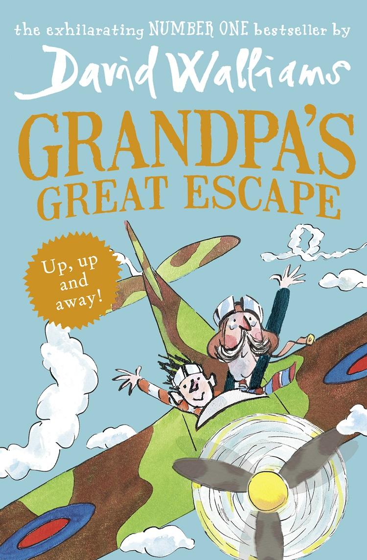 лучшая цена David Walliams Grandpa's Great Escape