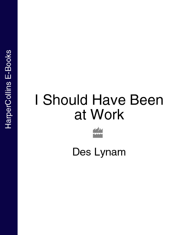 Des Lynam I Should Have Been at Work pearl beaded plain tee