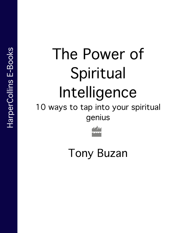 Tony Buzan The Power of Spiritual Intelligence: 10 ways to tap into your spiritual genius tony buzan mind mapping for dummies