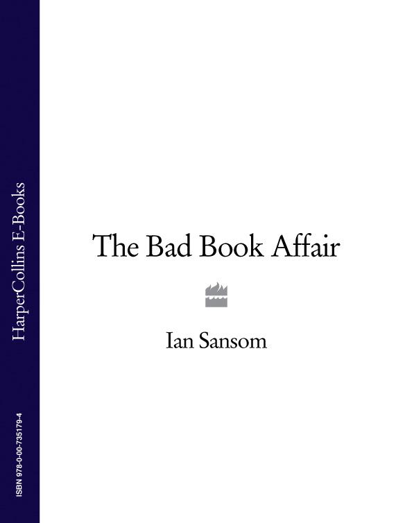 Ian Sansom The Bad Book Affair