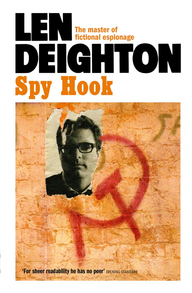Len Deighton Spy Hook len deighton ss gb