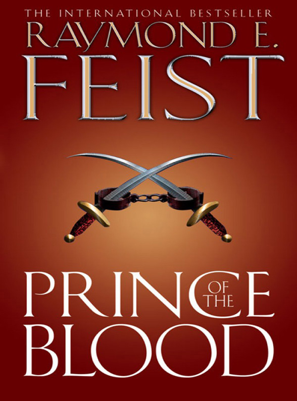 Raymond E. Feist Prince of the Blood pirate frog prince e juice