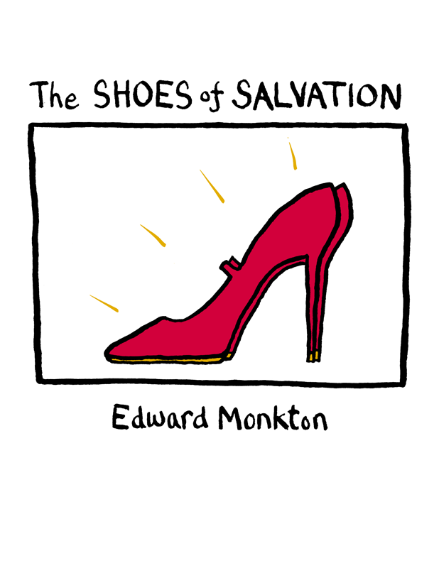 Edward Monkton The Shoes of Salvation a suit of gorgeous rhinestone geometric necklace earrings ring and bracelet for women
