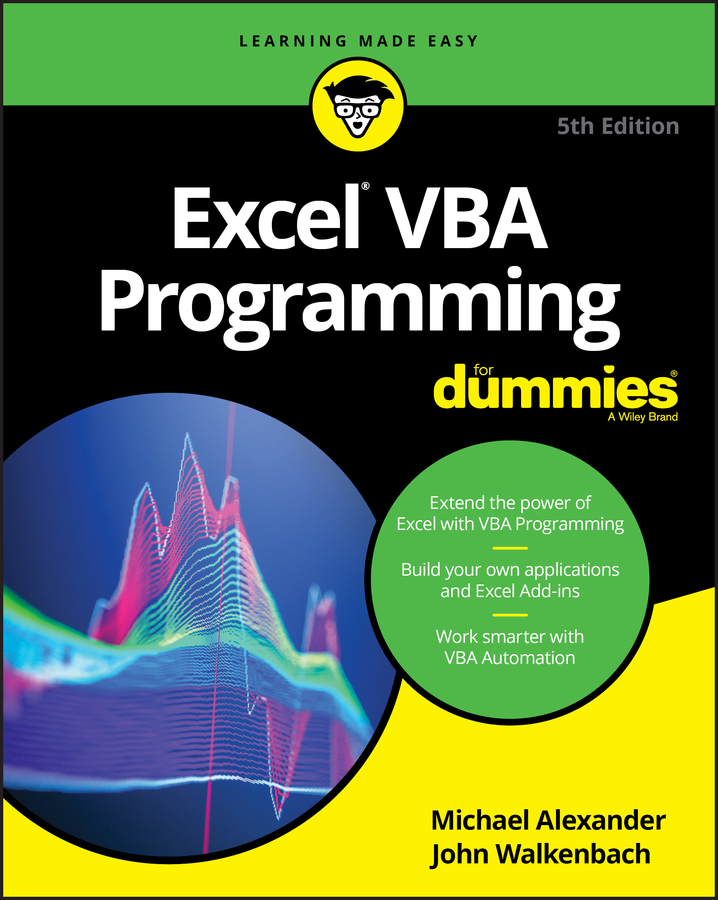 John Walkenbach Excel VBA Programming For Dummies john walkenbach excel dashboards and reports