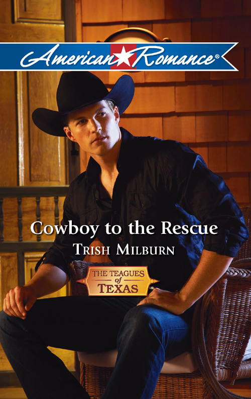 Trish Milburn Cowboy to the Rescue цена