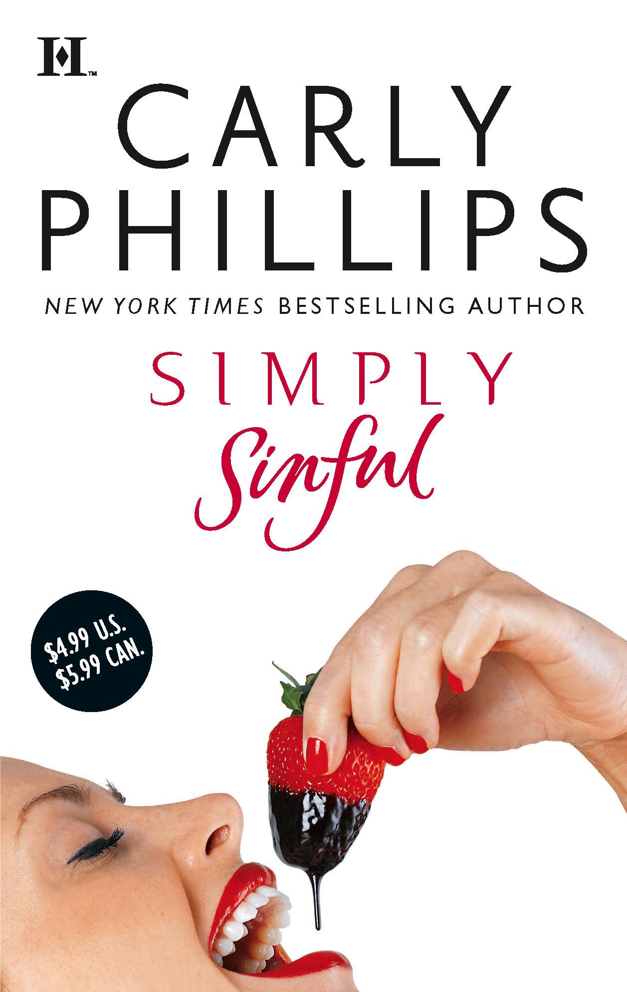 Carly Phillips Simply Sinful kayla свитер