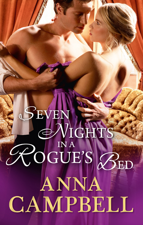 Anna Campbell Seven Nights In A Rogue's Bed цена