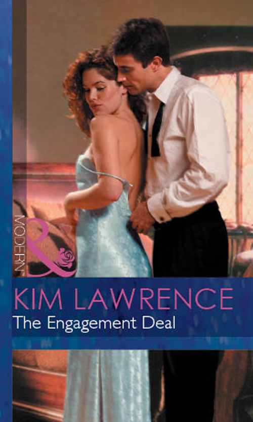 KIM LAWRENCE The Engagement Deal let her be holly