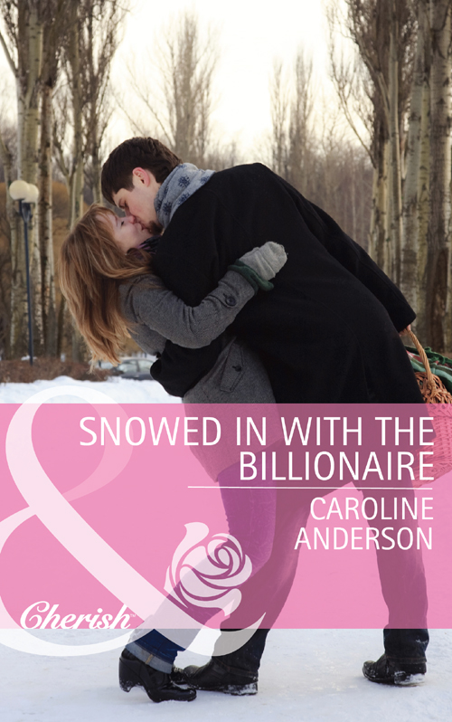 Caroline Anderson Snowed in with the Billionaire doorbell