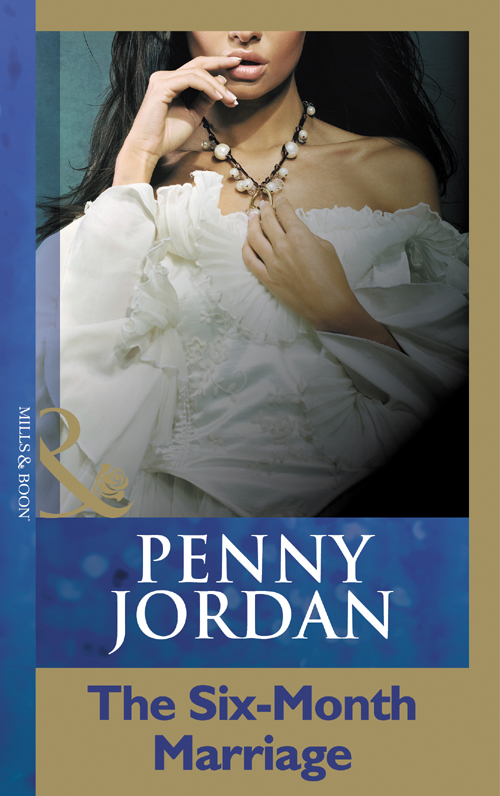 PENNY JORDAN The Six-Month Marriage penny jordan mistress to her husband