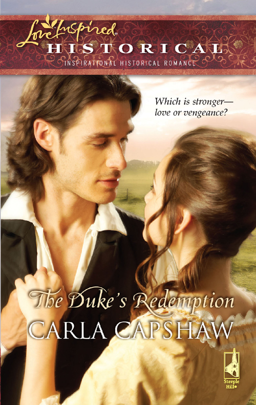 Carla Capshaw The Duke's Redemption davon rice the path to forgiveness freedom