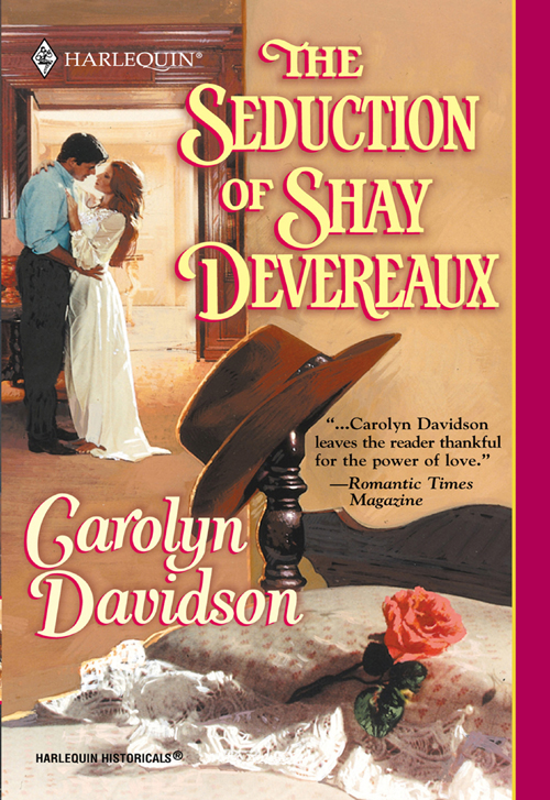 Carolyn Davidson The Seduction Of Shay Devereaux jenny and the cat club