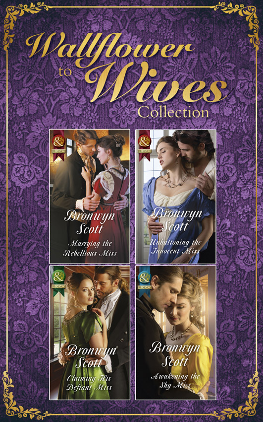 Bronwyn Scott The Wallflowers To Wives Collection wallflowers