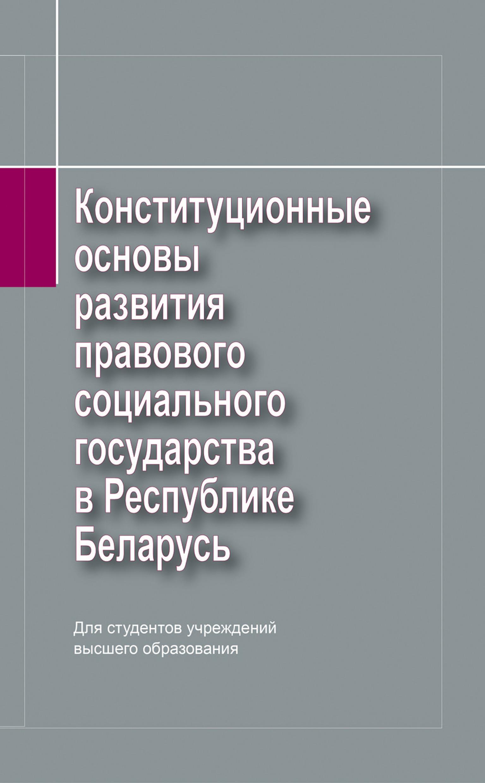 Фото - П. Г. Никитенко Конституционные основы развития правового социального государства в Республике Беларусь п и иванцов организационно экономические основы обеспечения продовольственной безопасности республики беларусь