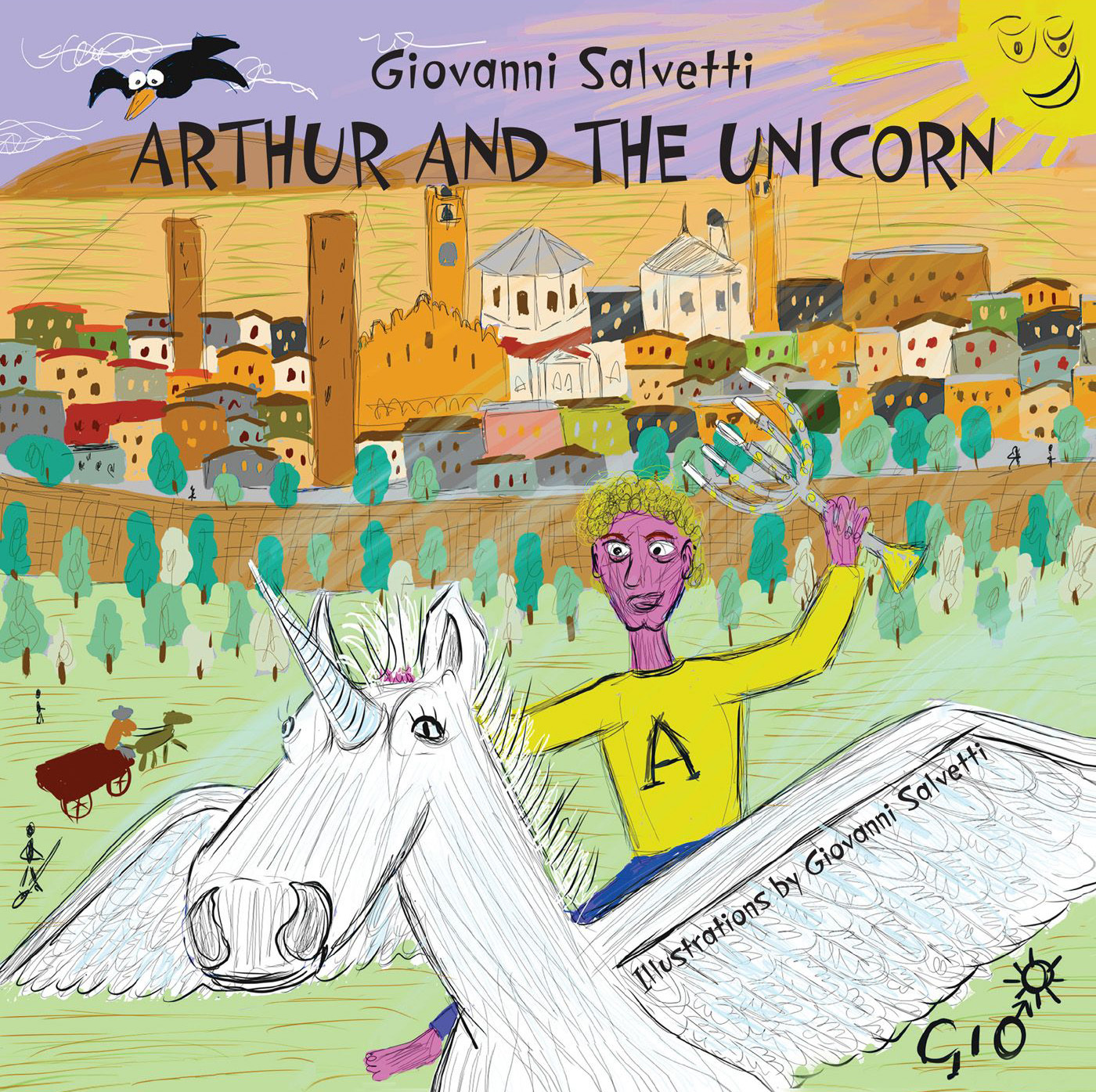 Джованни Сальветти Arthur and the unicorn various a traveller in italy a collection of historical guides for the tourist in italy