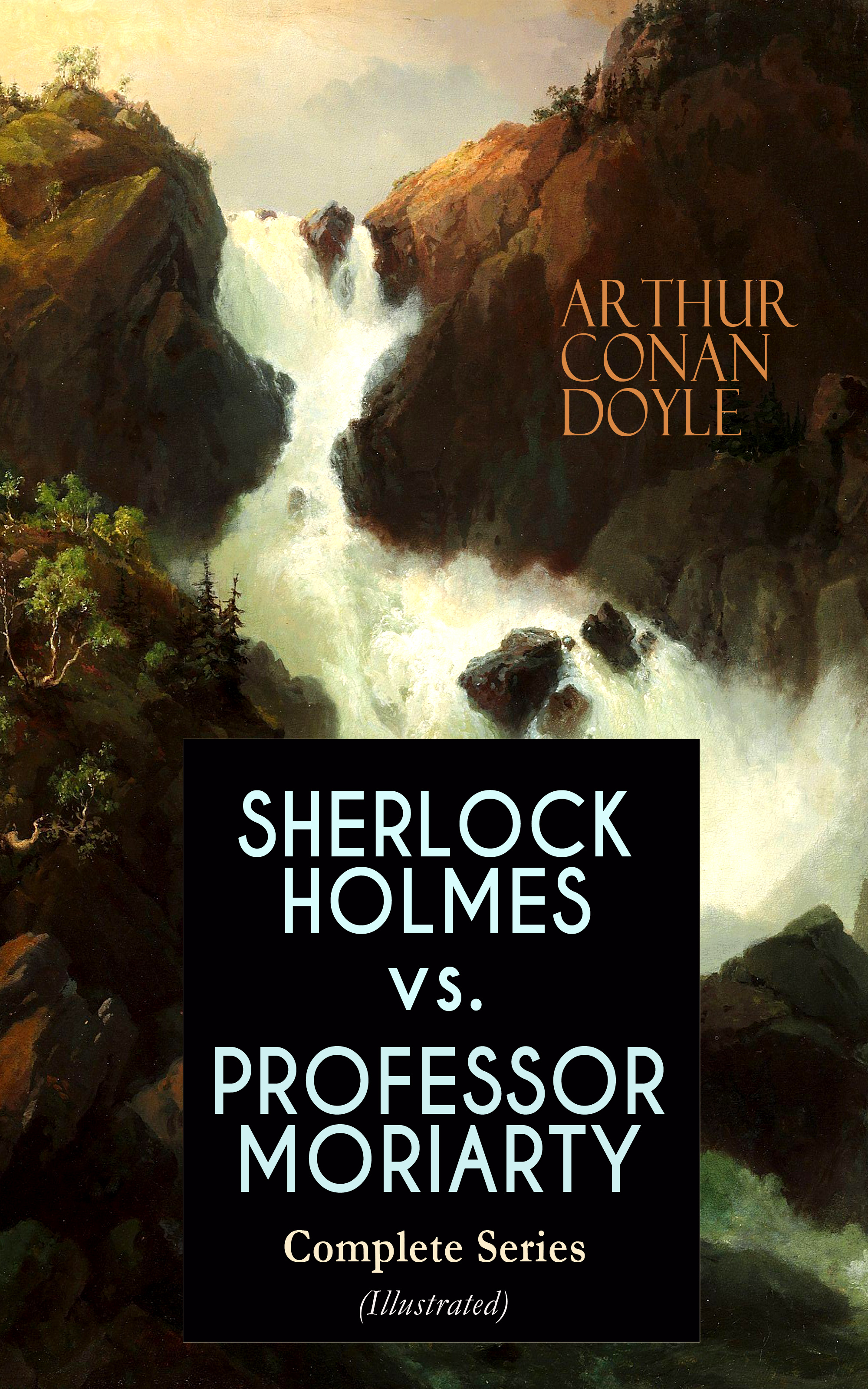 sherlock holmes vs professor moriarty complete series illustrated