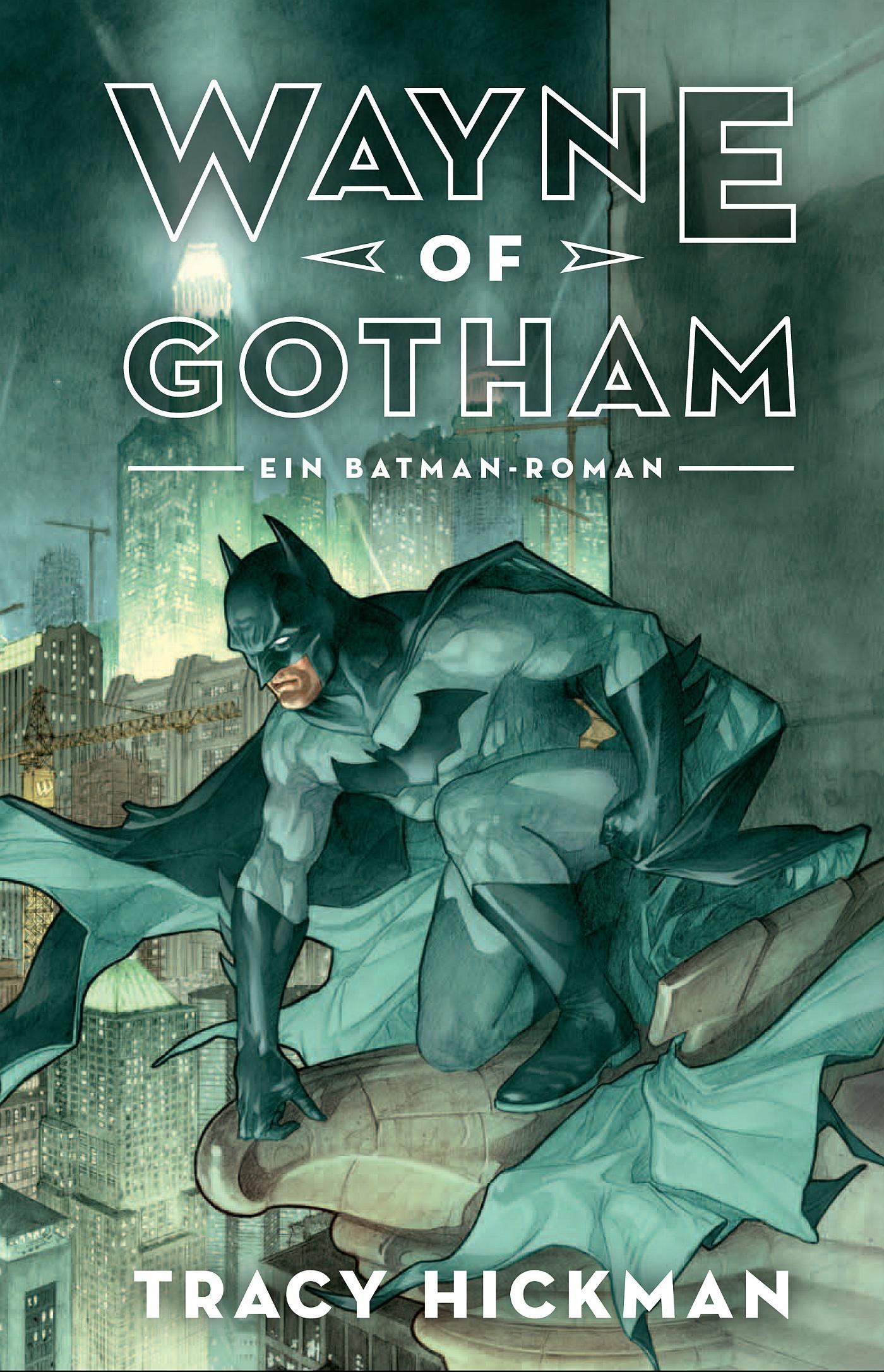 Tracy Hickman Wayne of Gotham: Batman kolor beacon свитер