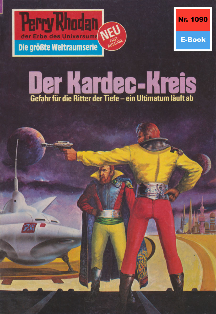 цена на Kurt Mahr Perry Rhodan 1090: Der Kardec-Kreis