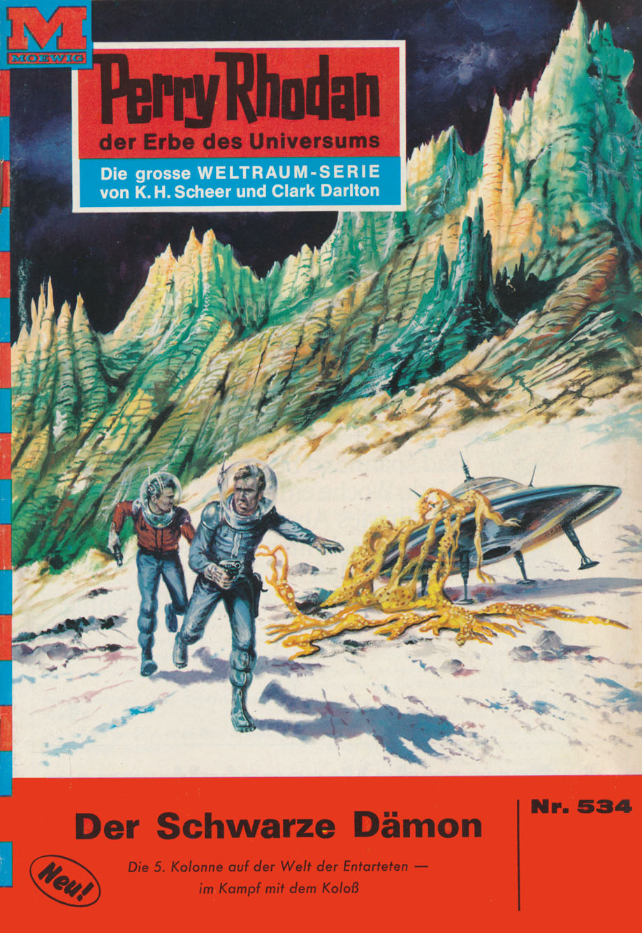 William Voltz Perry Rhodan 534: Der Schwarze Dämon william voltz perry rhodan 816 meister der gravitation