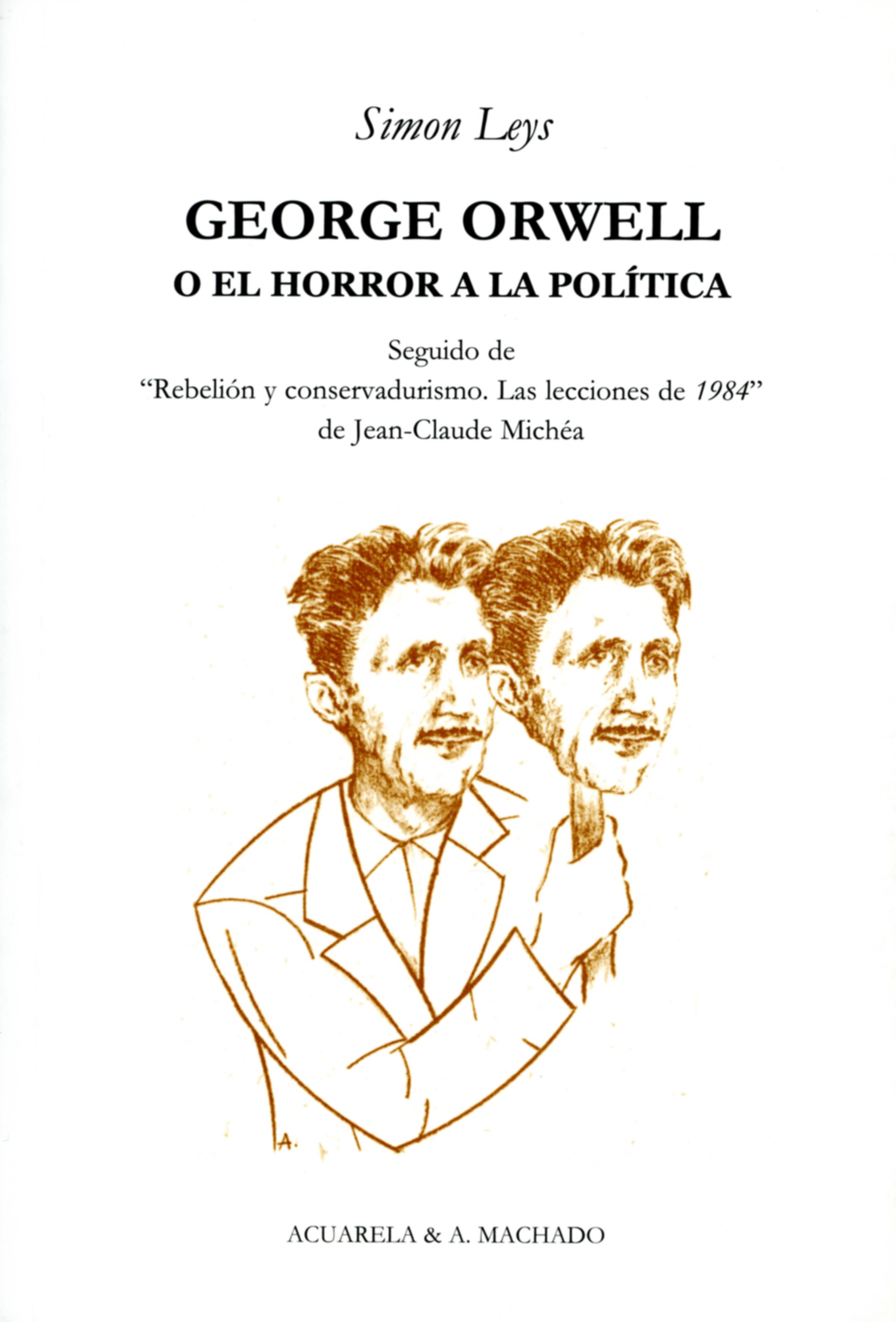 Simon Leys George Orwell недорого