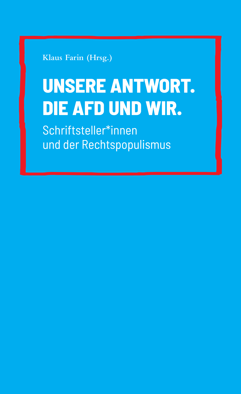 Отсутствует Unsere Antwort. Die AfD und Wir. отсутствует chriemhilden rache und die klage