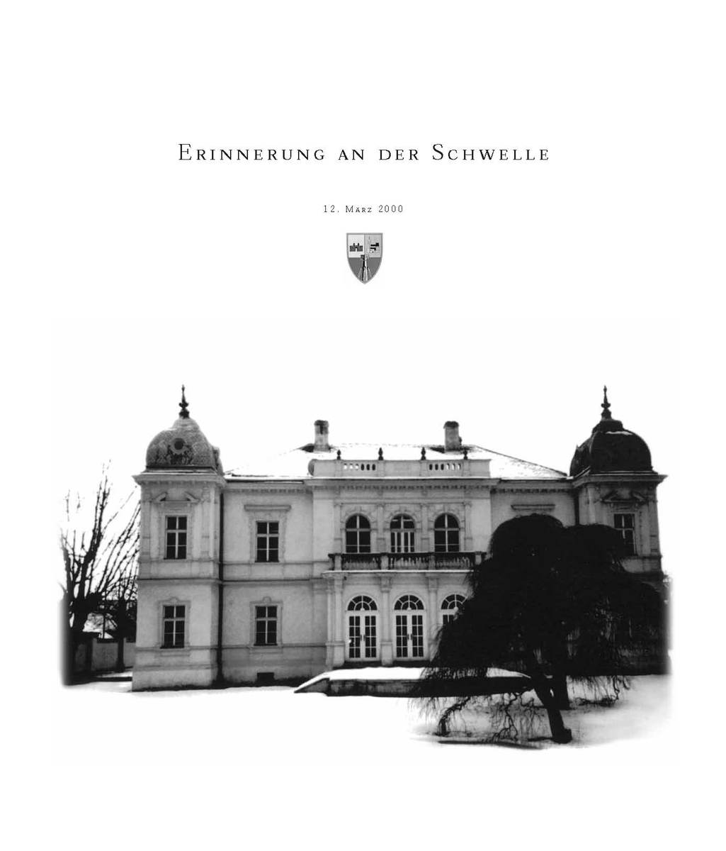 Hans Ernst Weidinger Erinnerung an der Schwelle kinck hans ernst italienere
