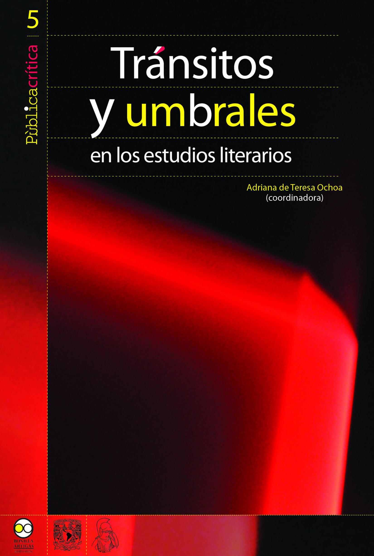 Отсутствует Tránsitos y umbrales en los estudios literarios