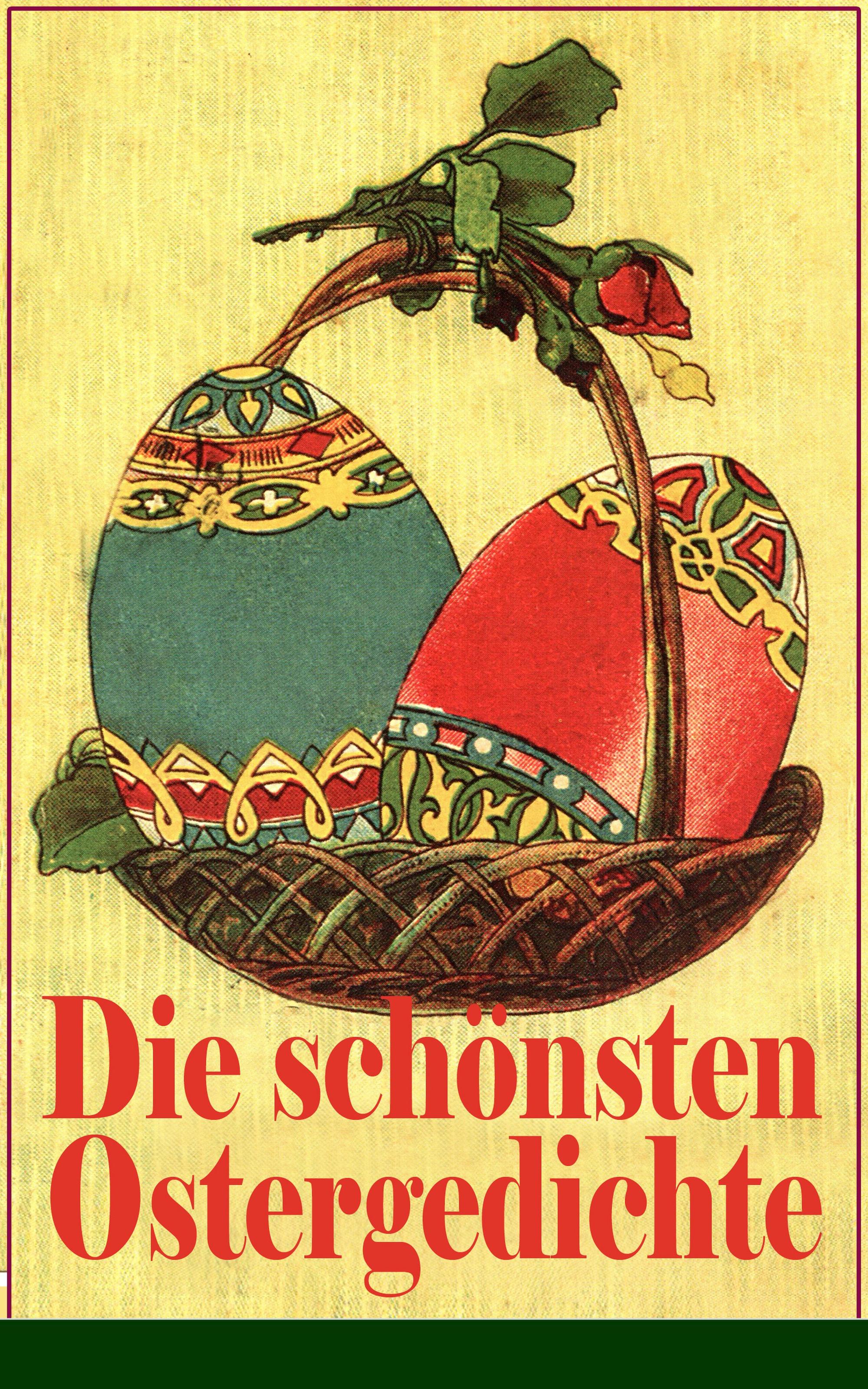 Friedrich Ruckert Die schönsten Ostergedichte gurlt ernst friedrich magazin fur die gesammte thierheilkunde volume 32 german edition