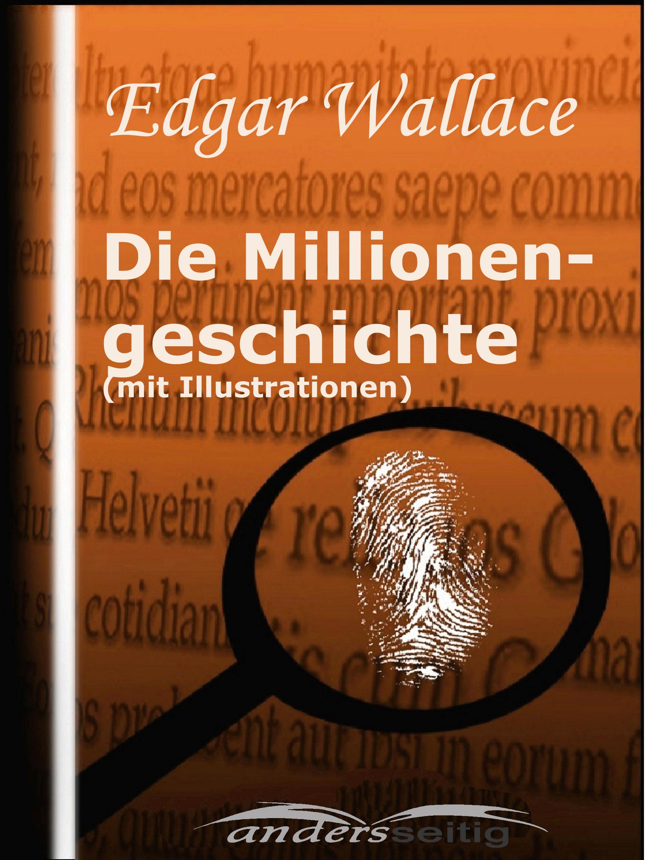 Edgar Wallace Millionengeschichte (mit Illustrationen) недорого