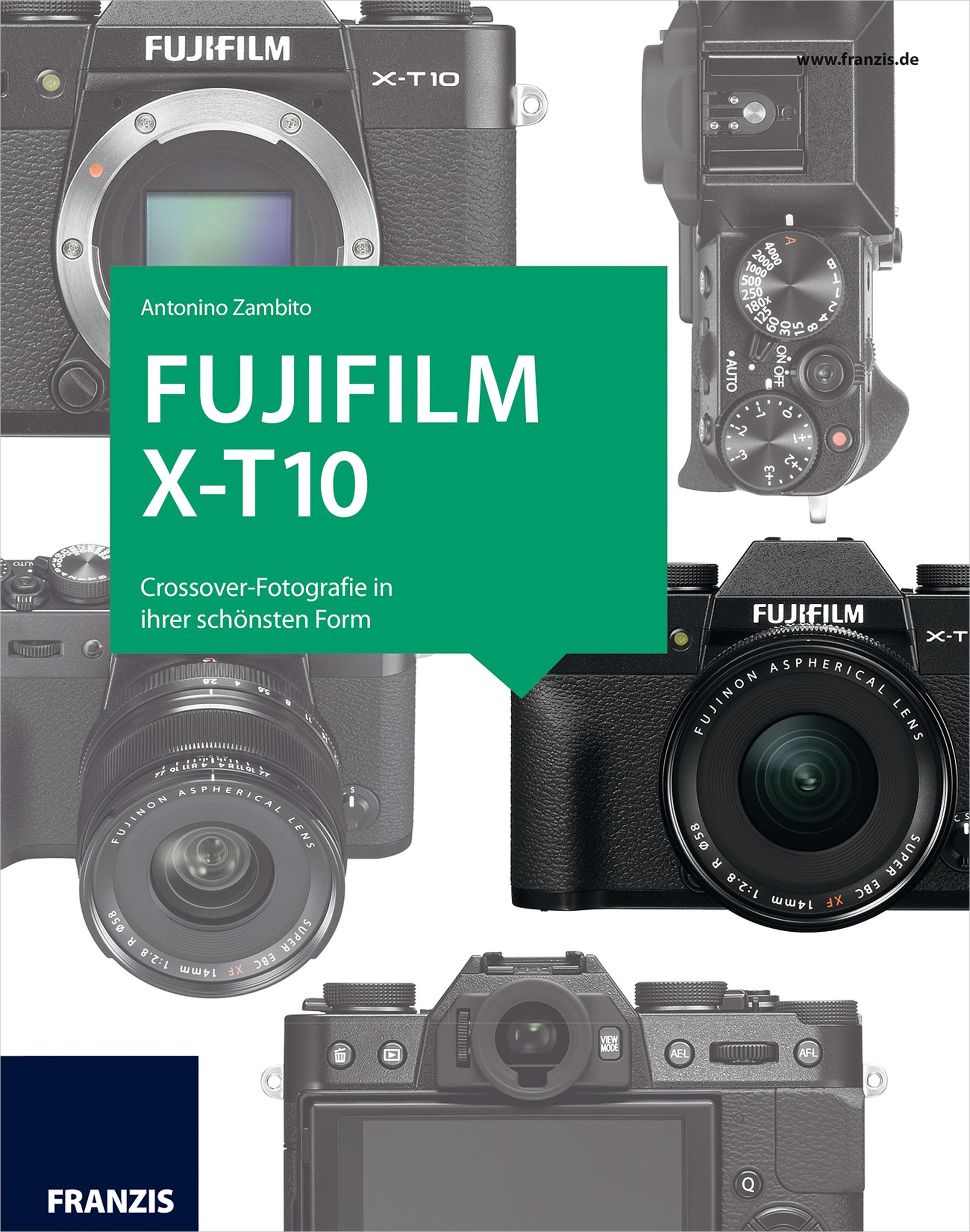 цена на Antonino Zambito Kamerabuch Fujifilm X-T10