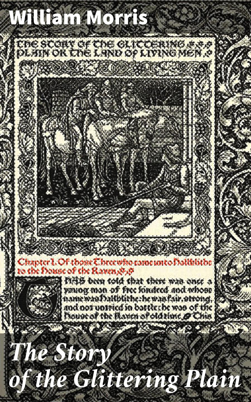 William Morris The Story of the Glittering Plain william morris 100 postcards