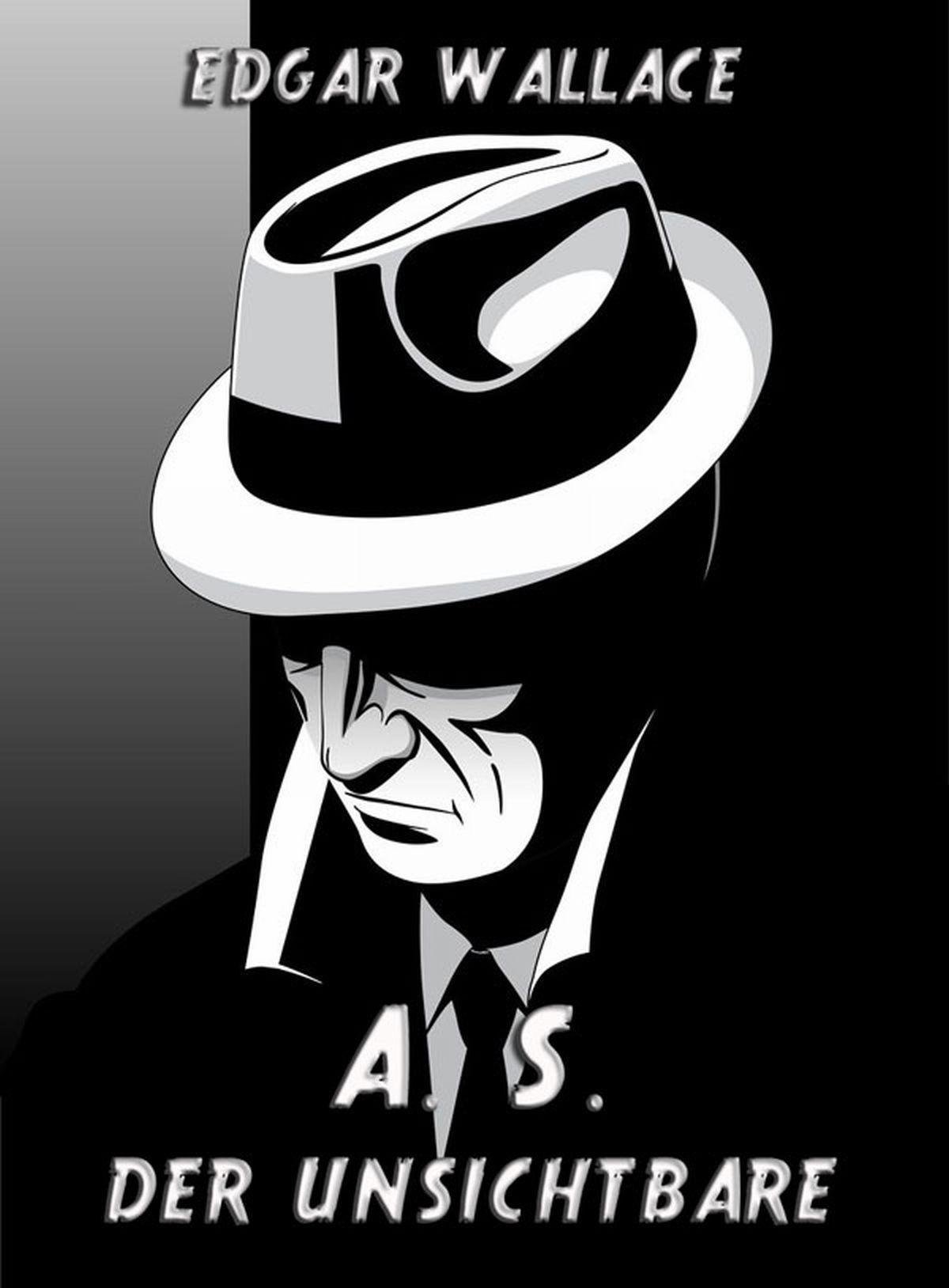 Edgar Wallace A. S. Der Unsichtbare s a schwarzkopf der kaffee