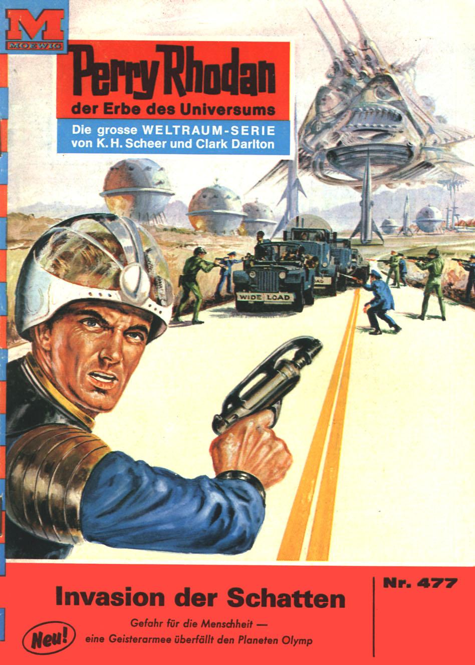 H.G. Ewers Perry Rhodan 477: Invasion der Schatten h g ewers perry rhodan 951 ultimatum der orbiter