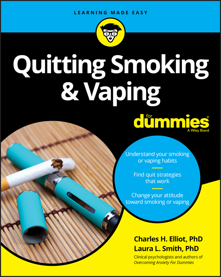 Фото - Laura Smith L. Quitting Smoking and Vaping For Dummies paul stallard think good feel good a cognitive behavioural therapy workbook for children and young people