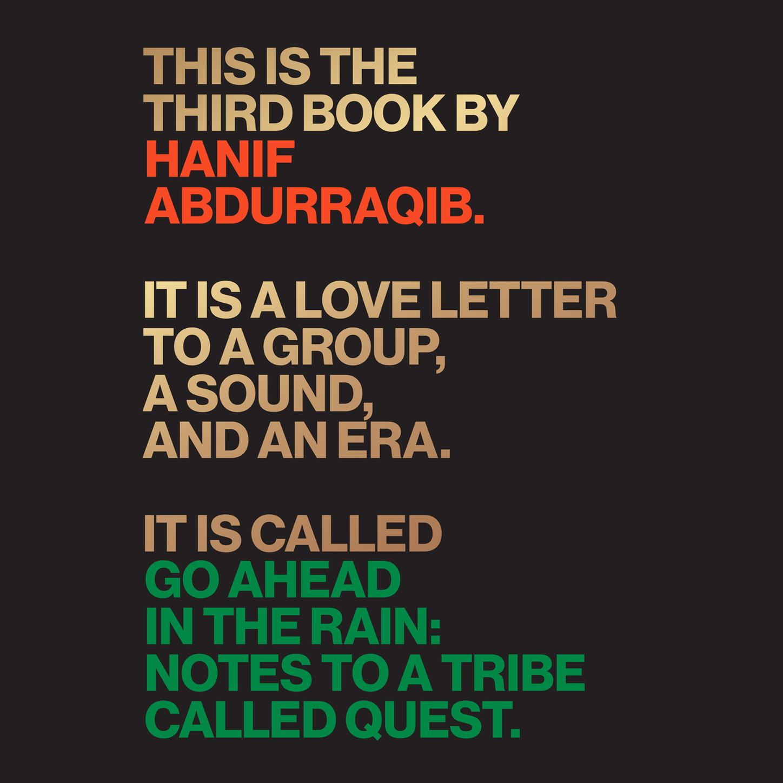 Hanif Abdurraqib Go Ahead in the Rain - Notes to A Tribe Called Quest (Unabridged) hanif kureishi äärelinna buddha