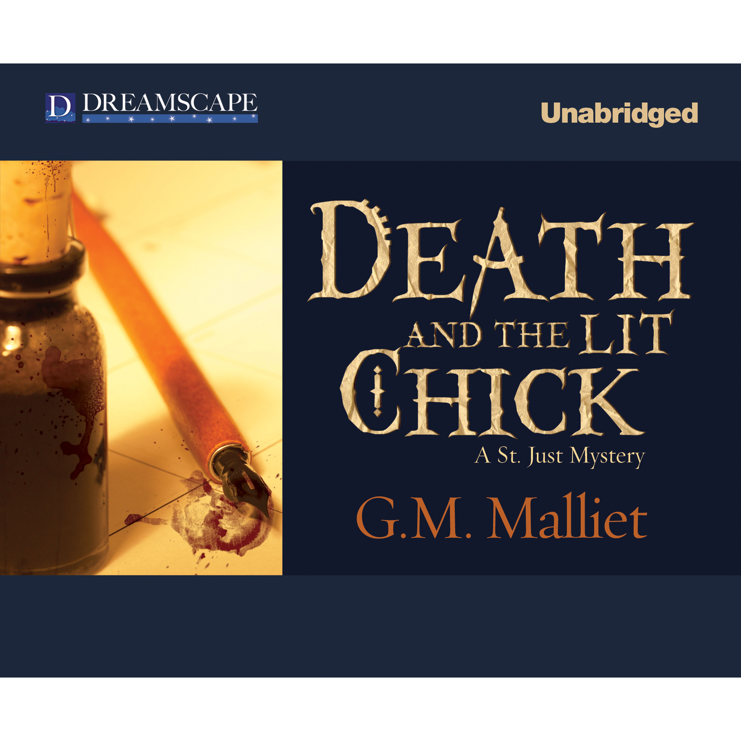 G. M. Malliet Death and the Lit Chick - A St. Just Mystery, Book 2 (Unabridged) g blessner 12 preludes and voluntaries book 1