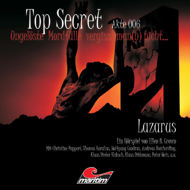 Ellen B. Crown Top Secret, Akte 6: Lazarus джинсы top secret top secret mp002xw18o4j