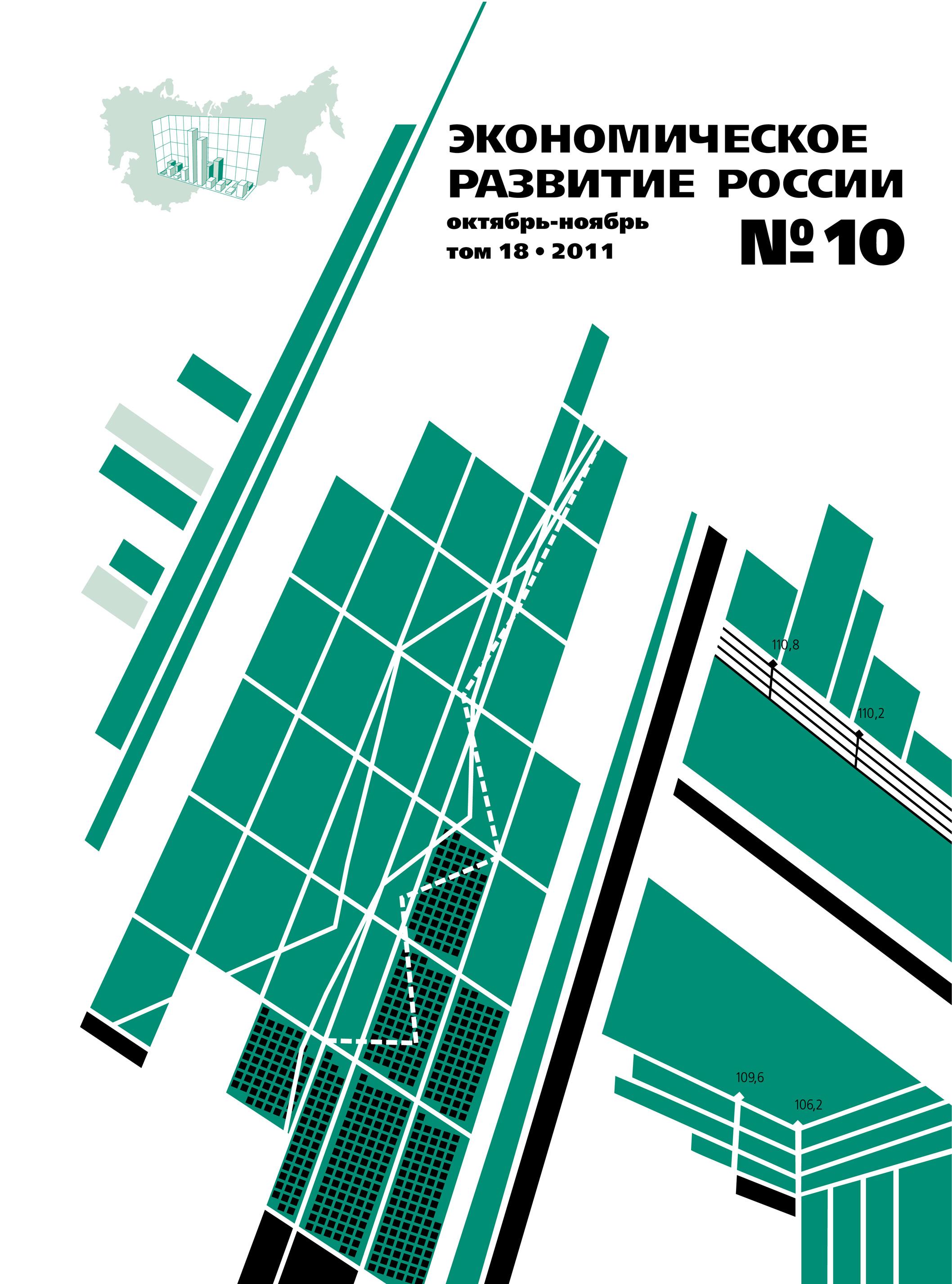 Отсутствует Экономическое развитие России № 10 2011