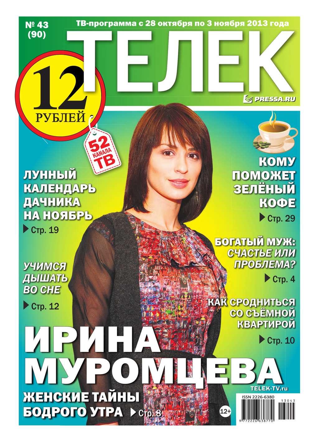 Редакция газеты ТЕЛЕК PRESSA.RU Телек 43-2013 газеты